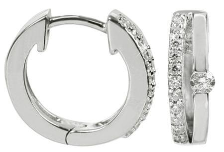 Silver Cat Ezüst fülbevaló kristályokkal SC120 ezüst 925/1000