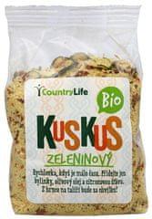 Country Life BIO Kuskus ochutený zeleninový 330 g