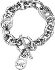 Michael Kors Jeklena zapestnica z logotipom MKJ1101040