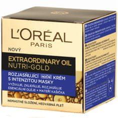 Loreal Paris Rozjasňujúci nočný krém s intenzitou masky Nutri Gold (Extraordinary Oil Face) 50 ml