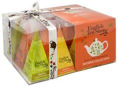 English Tea Shop Dárková kolekce 12 pyramidek Rooibos 4 příchutě