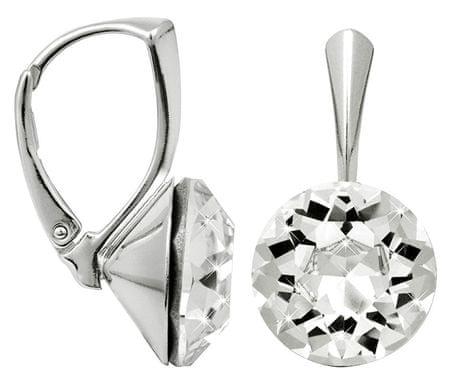 Troli Dentelle ezüst fülbevaló 13 mm Crystal ezüst 925/1000