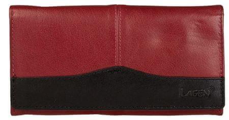 Lagen Női bőr pénztárca Red