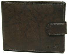 Lagen Férfi barna bőr pénztárca Brown V-42