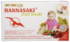 Phoenix Division Detský čaj Hannasaki Fruit fenikel 20 vrecúšok