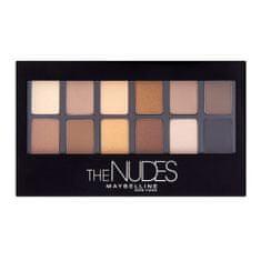 Maybelline Paleta očných tieňov The Nudes 9,6 g