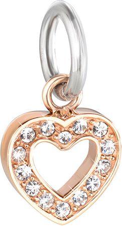 Morellato Drops Charms Heart nemesacél medál SCZ617