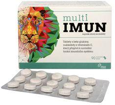 Omega Pharma MultiIMUN cmúľavé tablety s grepovou príchuťou