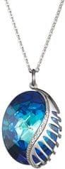 Preciosa Fantazijska ogrlica iz pravljice z Bermuda modrim 7222 46 kristal