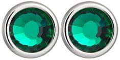 Preciosa Carlyna kryształowe kolczyki z Emerald 7235 66