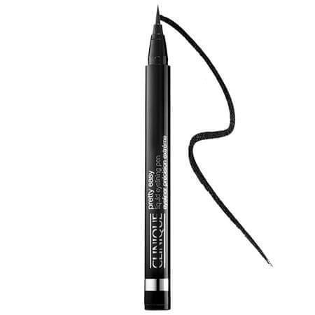 Clinique Konturówka w płyniePretty Easy (Liquid Eyelining Pen) 2 ml (cień 01 Black)