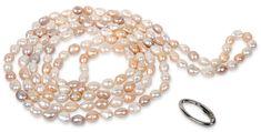 JwL Luxury Pearls Dlhý náhrdelník z pravých multibarevných perál JL0140