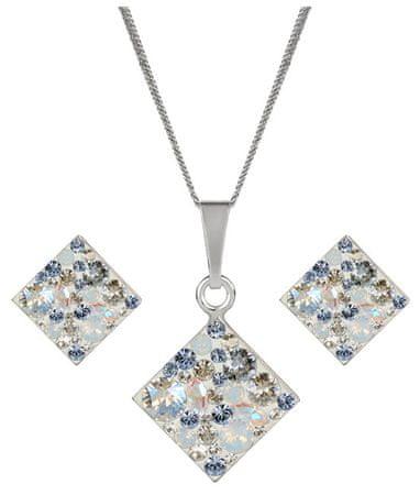 Evolution Group Srebrny komplet błyszczącej biżuterii 39126,3 srebro 925/1000