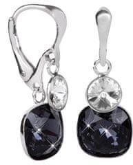 Evolution Group Ezüst fülbevaló kristályokkal 31237.3 ezüst 925/1000