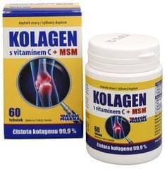 Dacom Pharma Kolagén s vitamínom C + MSM 60 tob.