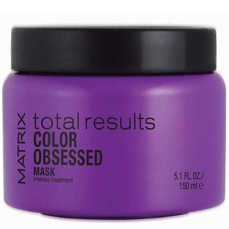 Matrix Obnovující maska pro barvené vlasy Total Results Color Obsessed (Mask Intense Treatment) (Objem 150