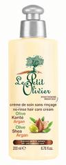Le Petit Olivier Hagyjuk-on hajápoló krém Olívaolaj, shea vaj és argánolaj 200 ml