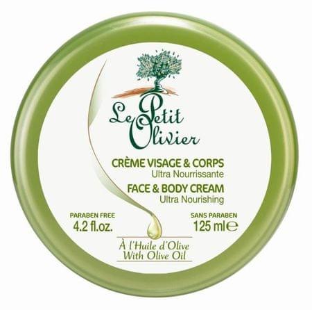 Le Petit Olivier Ultra tápláló és tónusos test olívaolajjal 125 ml