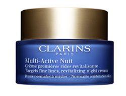 Clarins Revitalizačný nočný krém proti jemným vráskam pre normálnu a zmiešanú pleť Multi-Active (Revitalizin