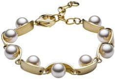 Skagen Dámsky oceľový náramok s perličkami SKJ0762710