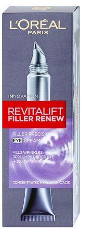 Loreal Paris Revitalift ráncfeltöltő szemkörnyékápolókrém (Filler Renew Eye cream) 15 ml