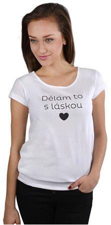 ba04f69411 Női fehér póló csinálom szeretettel (méret S) | MALL.HU