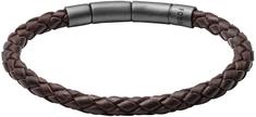 Fossil Férfi bőr karkötő JF02074001