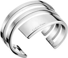 Calvin Klein Pevný oceľový náramok Beyond KJ3UMF0001