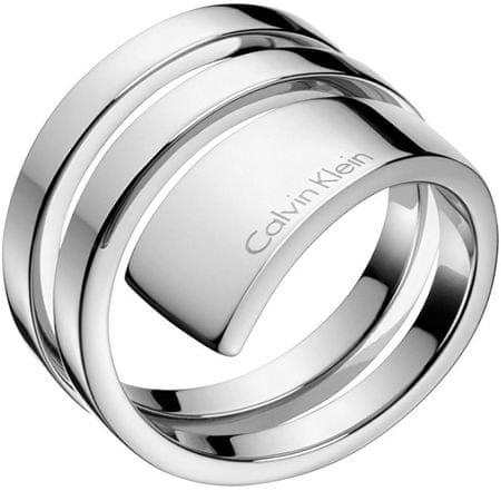Calvin Klein Jekleni prstanBeyondKJ3UMR0001 (Obseg 52 mm)