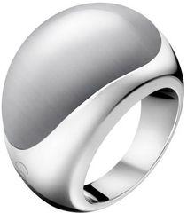 Calvin Klein Oceľový prsteň s kameňom Ellipse KJ3QWR0201