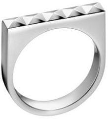 Calvin Klein Oceľový prsteň Edge KJ3CMR0001