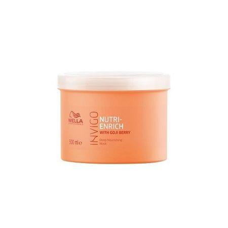 Wella Professional Invigo Nutri-Enrichtápláló hajmaszk száraz és károsodott hajra(Deep Nourishing Mask) (mennyiség 150 ml)