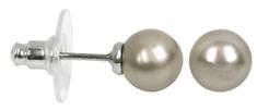 Troli Pearl Platinumfülbevaló