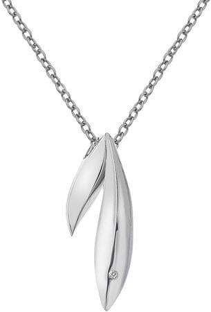 Hot Diamonds Silver Leaf Naszyjnik Hot Diamonds DP608 srebro 925/1000