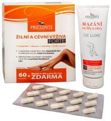 Simply you Priessnitz Žilná a cievna výživa Forte 60 tob. + Mazanie na žily a cievy De Luxe 125 ml ZD ARMA