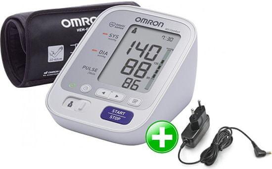 Omron Tonometr M3 Comfort + zdroj