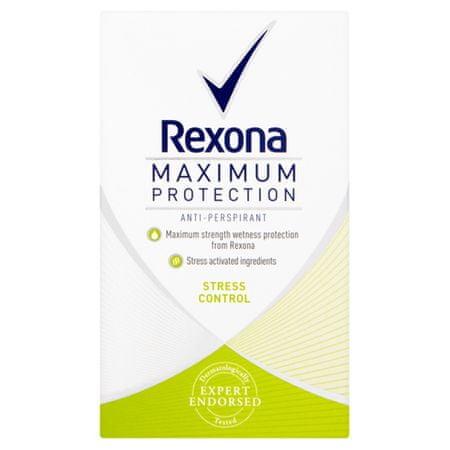 Rexona Dezodor maximális feszültség védelem Ellenőrzési 45 ml