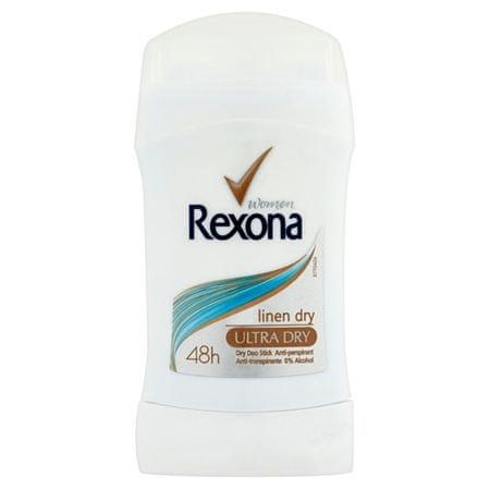 Rexona Linen Dryizzadásgátló stift40 ml