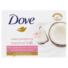 Dove Kremowa tabletka Purely Pampering z zapachem jaśminu i mleka kokosowego (Beauty Cream Bar) 100 g