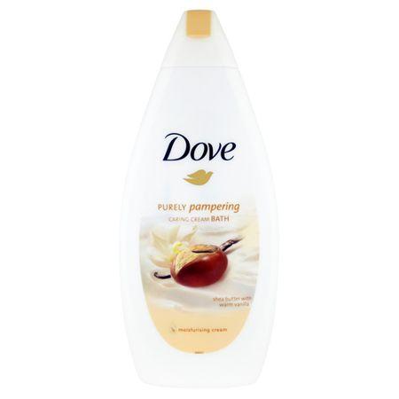 Dove Kremowy płyn do kąpieli z masła shea i wanilii czysto Pampering (trosce krem łaźni) 500 ml