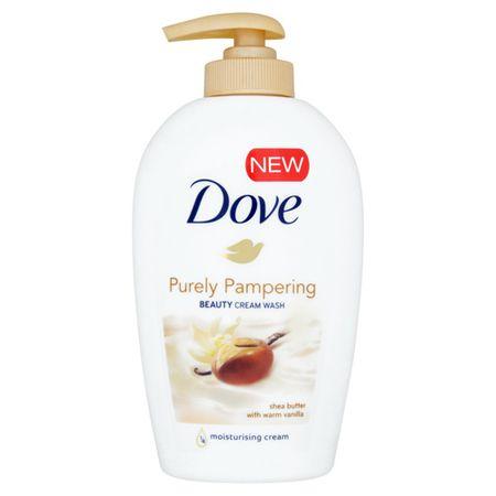 Dove Purely Pampering folyékony szappan shea vaj és finom vanília illattal (Beauty Cream Wash) (mennyiség