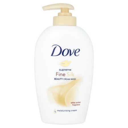 Dove Supreme Fine Silk folyékony krémszappan(Beauty Cream Wash) (mennyiség Náhradní náplň 500 ml)