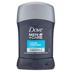 Dove Dezodorant Men + Pielęgnacja Clean Comfort 50 ml