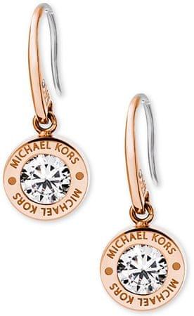 Michael Kors Pozlacené náušnice s krystalem MKJ5339791