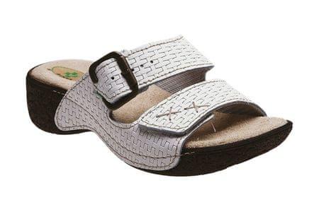 SANTÉ Zdravotná obuv dámska N / 109/1/01 biela (Veľkosť vel. 39)