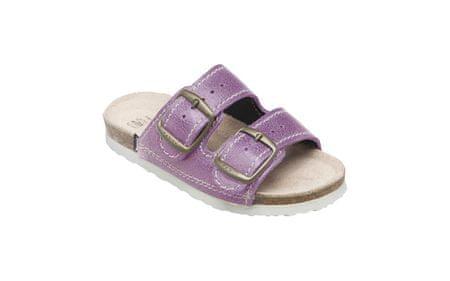 SANTÉ Zdravotná obuv detská D / 202/76 / BP fialová (Veľkosť vel. 32)