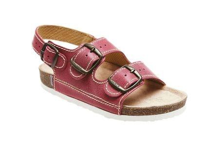 SANTÉ Zdravotná obuv detská D / 302 / C30 / BP červená (Veľkosť vel. 28)