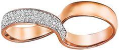Swarovski Dupla gyűrű 5221588