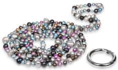 JwL Luxury Pearls Dolga ogrlica iz biserov prave barve JL0182