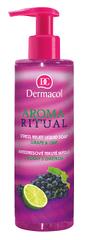 Dermacol Antistresové tekuté mydlo hrozno s limetkou Aroma Ritual (Stress Relief Liquid Soap)